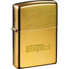 Zippo(R) Windproof Lighter High Polish Brass