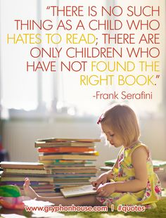 What books are your children passionate about? http://buff.ly/1zXGzIK #QuoteOfTheWeek
