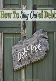 Getting out of debt is like going on a diet. The hard part isn't paying off the credit cards, it not using them again. Using the five strategies outlined in this article will help you gain control over your debt issues and finally have financial freedom. Debt Free Living, Living On A Budget, Frugal Living Tips, Family Budget, Frugal Tips, Debt Repayment, Debt Payoff, Money Tips, Money Saving Tips