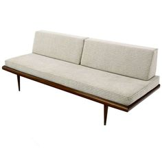 Danish Mid Century Modern Daybed Sofa | From a unique collection of antique and modern day beds at http://www.1stdibs.com/furniture/seating/day-beds/