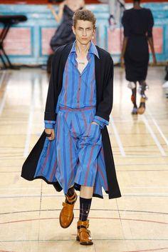 Vivienne Westwood Spring 2018 Menswear Collection Photos - Vogue