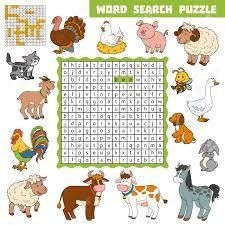 Resultado de imagen para crucigramas para niños