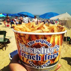 Thrasher's French Fries in Rehoboth Beach, DE