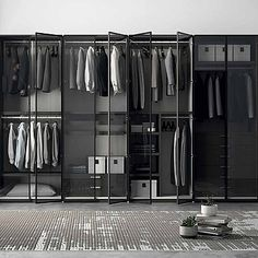 Unique, exclusive 'Open' Wardrobe. Elegant, perfect for any kind of room. Beautiful, modern and contemporary. My Italian Living.