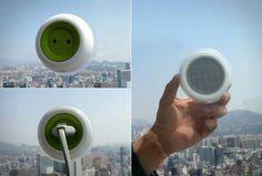 Solar power plug