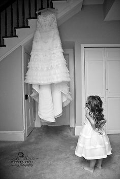 Want a picture of my flower girl like this!