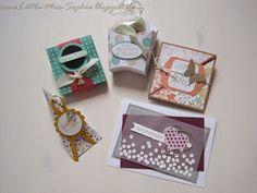 Stampin up!Little-Miss-Sophie : Workshop !!! Karten und Verpackungen