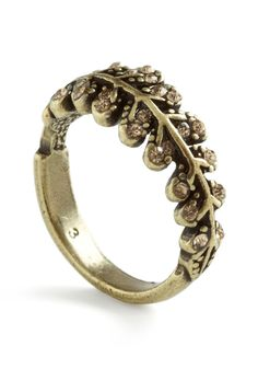 Bough Out Gracefully Ring - Gold