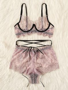 To find out about the Plus Eyelash Lace Sheer Underwire Lingerie Set at SHEIN, part of our latest Plus Size Sexy Lingerie ready to shop online today! Sexy Lingerie, Lingerie Bonita, Lingerie Plus Size, Plus Size Intimates, Jolie Lingerie, Pretty Lingerie, Lingerie Sets, Bride Lingerie, Lingerie Models