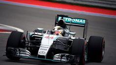 Lewis Hamilton (GBR) Mercedes AMG F1 W06 at Formula One World Championship, Rd15, Russian Grand Prix, Qualifying, Sochi Autodrom, Sochi, Krasnodar Krai, Russia, Saturday 10 October 2015. © Sutton Motorsport Images
