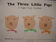 The Three Little Pigs Student Book