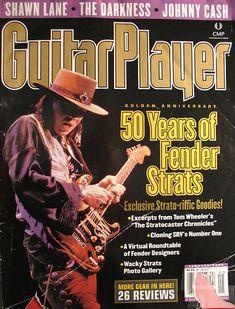 SRV - Guitar Player cover - stevie-ray-vaughan Fan Art