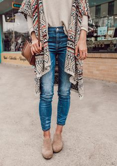 Cozy Boho Outfit Idea | LivvyLand