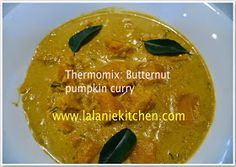 This is a simple pumpkin curry. You can make quickly for lunch or dinner. Goes with steam rice, roti, and bread. Pumpkin Curry, Pumpkin Squash, Steamed Rice, Dairy Free, Lunch, Cooking, Ethnic Recipes, Kitchen, Glutenfree
