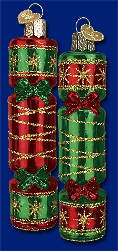 Christmas Cracker (a), Glass Ornaments from Old World Christmas