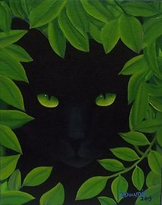 Art: GARDEN VISITOR....Sold by Artist Rosemary Margaret Daunis