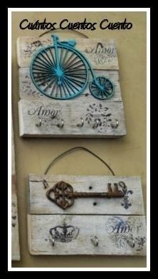 ¡Mirá nuestro nuevo producto! Si te gusta podés ayudarnos pinéandolo en alguno de tus tableros :) Pallet Picture Frames, Mirrored Picture Frames, Wood Crafts, Diy And Crafts, Diy Home Accessories, Metal Garden Art, Beaded Jewelry Designs, Decoupage Vintage, Vintage Theme
