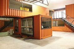5 Escritórios Containers Coletivos: Empreendimento Inspirador
