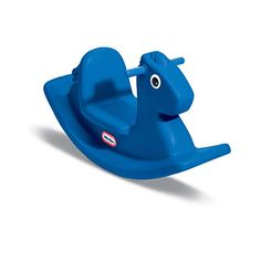 Advertisement - Little Tikes Rocking Horse Blue children's Toy will learn balance coordination Toddler Toys, Baby Toys, Kids Toys, Toys For 1 Year Old, One Year Old, Little Tikes, Best Outdoor Toys, Outdoor Play, Ride On Toys