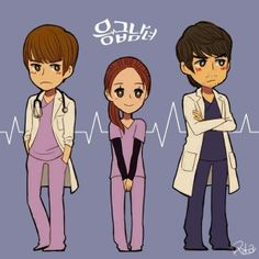 Running Man's JiHyo ~ Emergency Couple K-drama FanArt Emergency Couple, Korean Wave, Korean Men, Princess Hours, Best Kdrama, Choi Jin Hyuk, Playful Kiss, Chang Min, How To Speak Korean