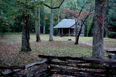 #pretty #cabin in Cades Cove in the Smoky Mountains