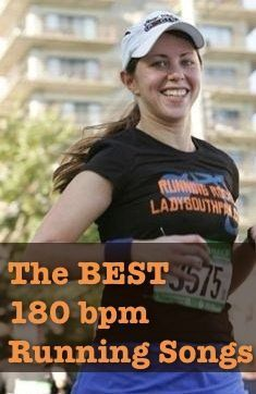 180 bpm Running Songs - Lady Southpaw Running Music & Performance #workout #fitness