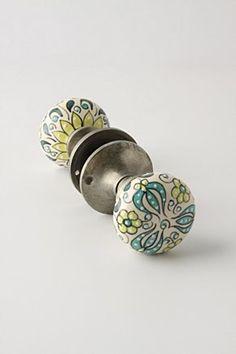Gardening Indoors Doorknob | Anthropologie.eu