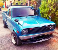 Datsun Car, Mini Trucks, Pickup Trucks, Cars And Motorcycles, Nissan, Mirror, Board, Projects, Cars Motorcycles
