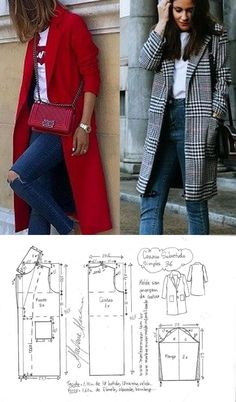 Details about Fashion Womens Pure Slim Suit Jacket Coat Casual One Button Tops Blazer Outwear - Her Crochet Coat Patterns, Dress Sewing Patterns, Sewing Patterns Free, Clothing Patterns, Barbie Clothes, Sewing Clothes, Diy Clothes, Fashion Sewing, Diy Fashion