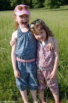 Sewing Like Mad: The Ash Jumpsuit by Willow & co / Petit a Petit and Family