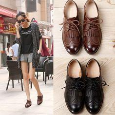 1c67bd4ee15 18 Best Vintage Leather Shoes images
