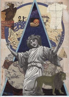 The World - Tarot Deck Elizabeth Aralia - If you love Tarot, visit me at www.WhiteRabbit Tarot.com