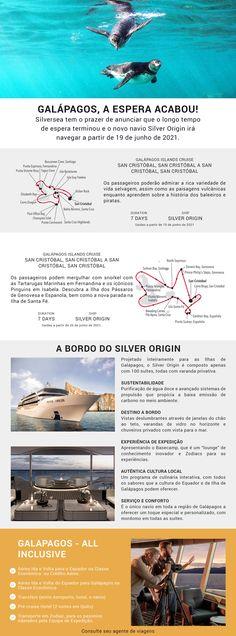Silversea tem o prazer de anunciar que o longo tempo de espera terminou e o novo navio Silver Origin irá navegar a partir de 19 de junho de 2021. Junho, Cruise, Ship, Weather, Viajes, Destiny, Icons, Cruises