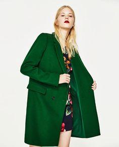 MASCULINE COAT from Zara
