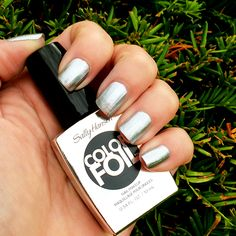 Sally Hansen Color Foil Sterling Silver Swatch #nails #beauty #swatches