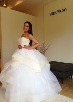 fittings of my Vera Wang Katherine Gown