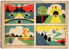 Dibujo Simétrico Recortable (1958).