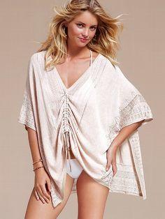 NEW!  Linen Poncho Cover-up Sweater #VictoriasSecret http://www.victoriassecret.com/swimwear/cover-ups/linen-poncho-cover-up-sweater?ProductID=90749=OLS?cm_mmc=pinterest-_-product-_-x-_-x