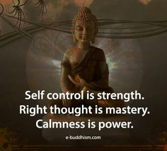 Calmness is power