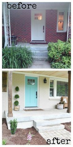 Get your home's exterior spring ready with fresh updates from Beneath My Heart.