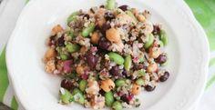 Three Bean Quinoa Salad