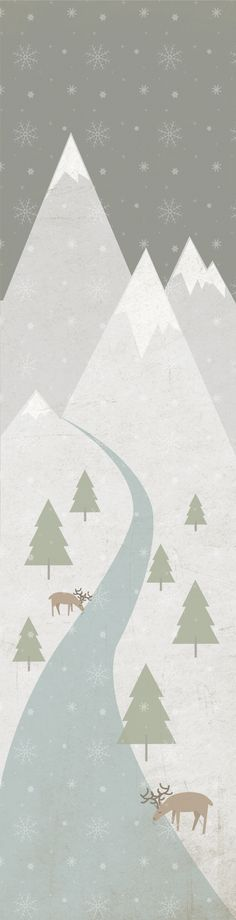 Winter landscape - by Patricia Mafra