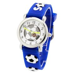 Children silicone watch Brand Quartz Wrist Watch Baby For Girls Boys Waterproof Kid Watches Football Fashion Casual Reloj #>=#>=#>=#>=#> Click on the pin to check out discount price, color, size, shipping, etc. Save and like it!