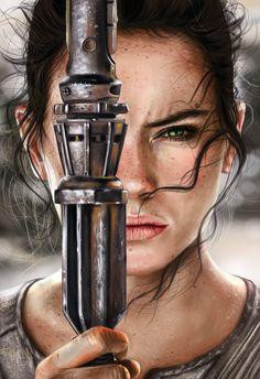 Rey by laracremon.deviantart.com on @DeviantArt