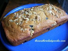 This is a great way to use up blueberries. The spices along with the nuts makes this bread a great breakfast treat with coffee. Serve it with a tall glass of milk for a snack anytime. 1/2 cup or o...