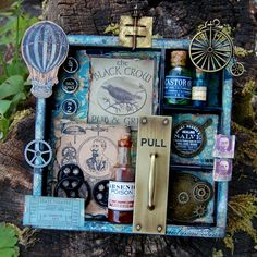 Shadow box-steam punk style..I like..