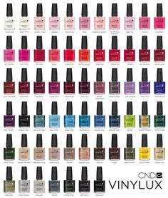cnd vinylux is a day nail polish that doesnt need a light to dry it can last up to 10 days with the color and top coat perfect for woman with nice - Nuancier Gel Color Opi