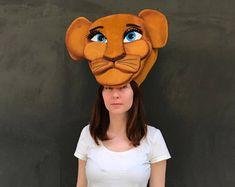 Máscara de Nala joven, Musical Rey Leon, leona