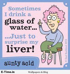 Aunty Acid Surprise Liver