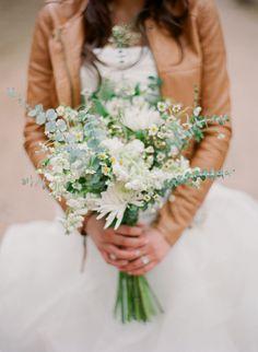 eucalyptus wedding bouquets